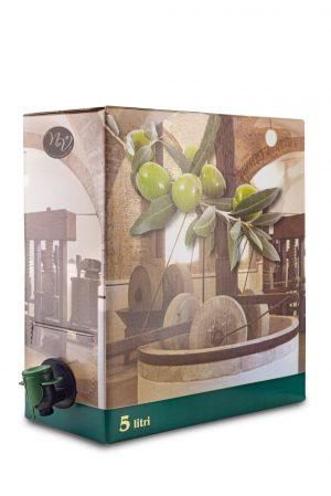 Bag in box olio extravergine di oliva Novella e Vignolo