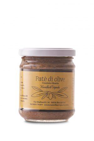 Patè di olive taggiasche Novella e Vignolo